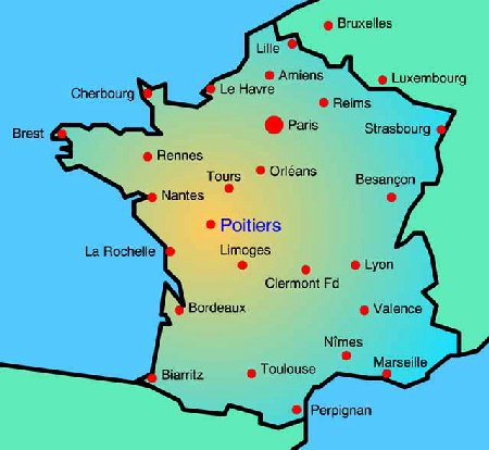 Carte De France Avec Toutes Les Grandes Villes | popkensburg