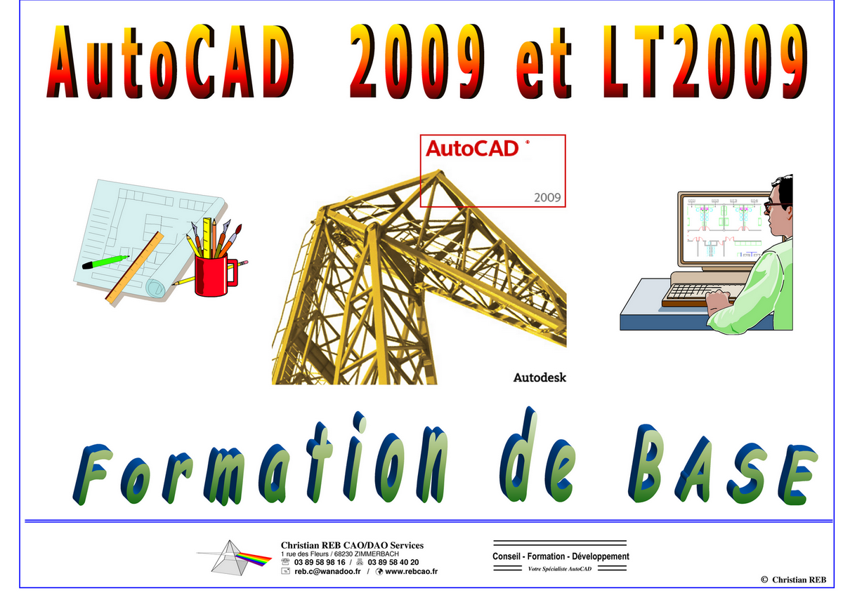 Christian REB - Formation AutoCAD Base support de cours 2009