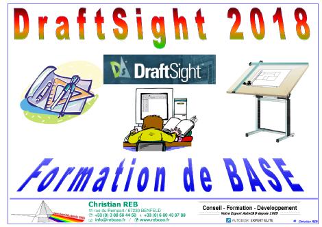 Télécharger le Support de cours DraftSight 2018 BASE